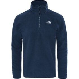 The North Face 100 Glacier Sweat-shirt avec Fermeture éclair 1/4 Homme, urban navy/urban navy